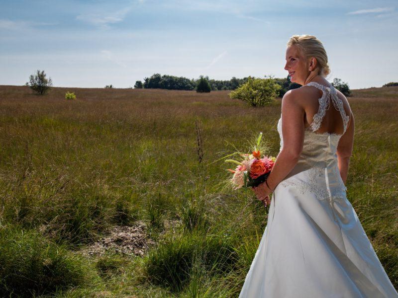 Bruid in weiland Fotograaf Evert van de Worp
