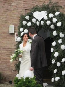 Bruiloft Bianca en Wesley