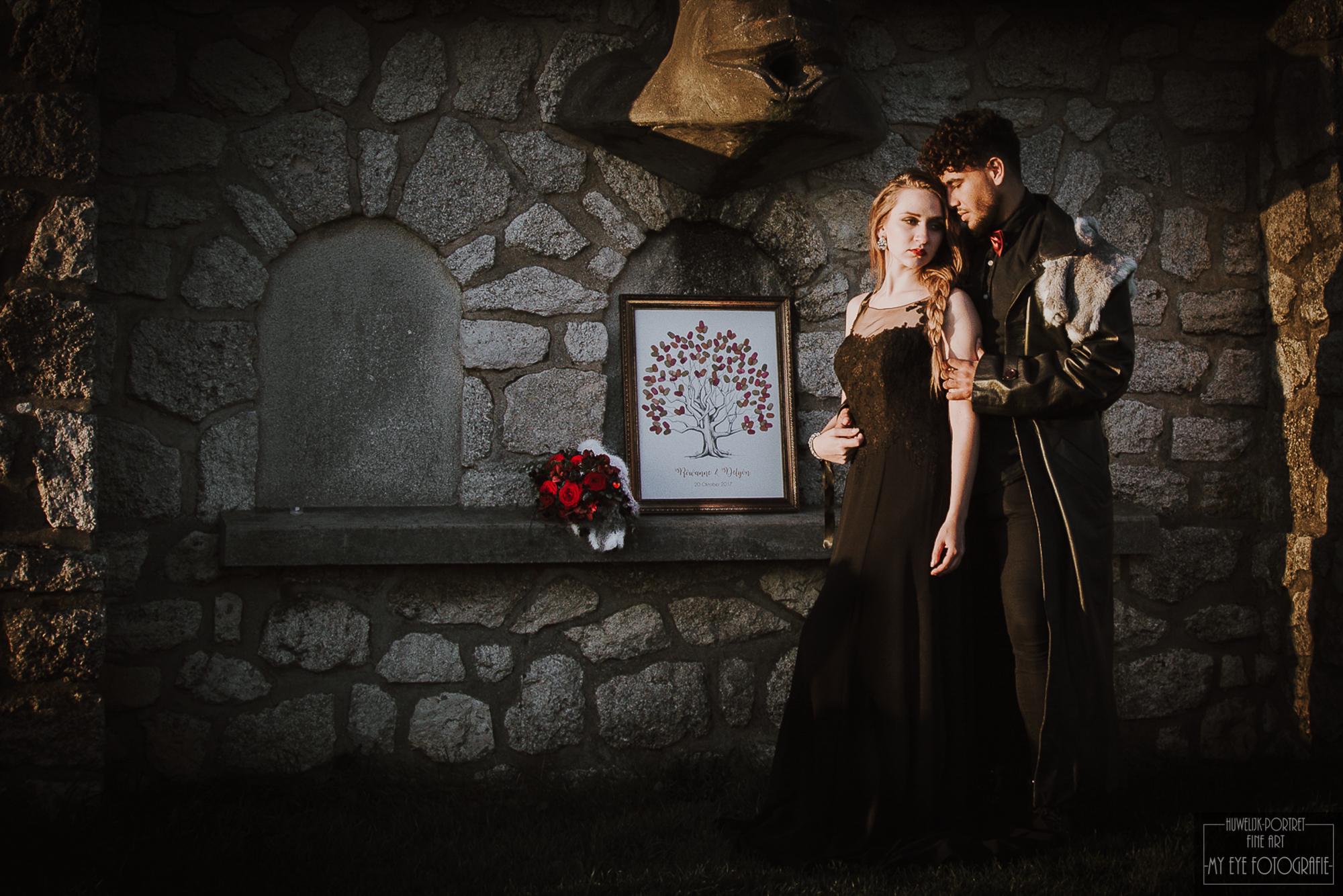 Bruidspaar Game of Thrones. Foto My Eye Fotografie
