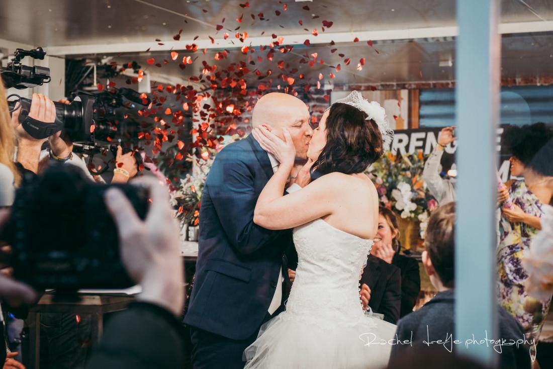 3FM Serious Request bruiloft van Kelly en Roy