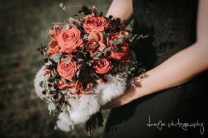 Bruidsboeket met broche