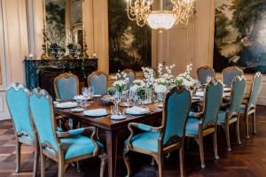 Dinerkamer Waldorf Astoria weddingplanner rondleiding