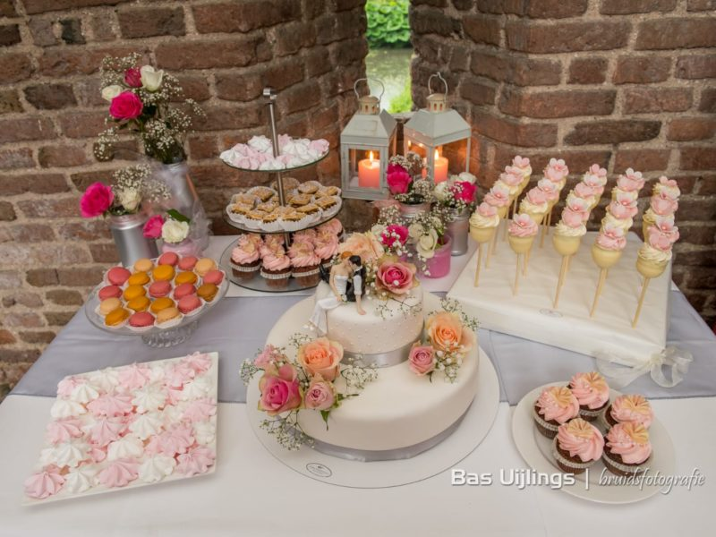 Sweet table, foto Bas Uijlings fotografie
