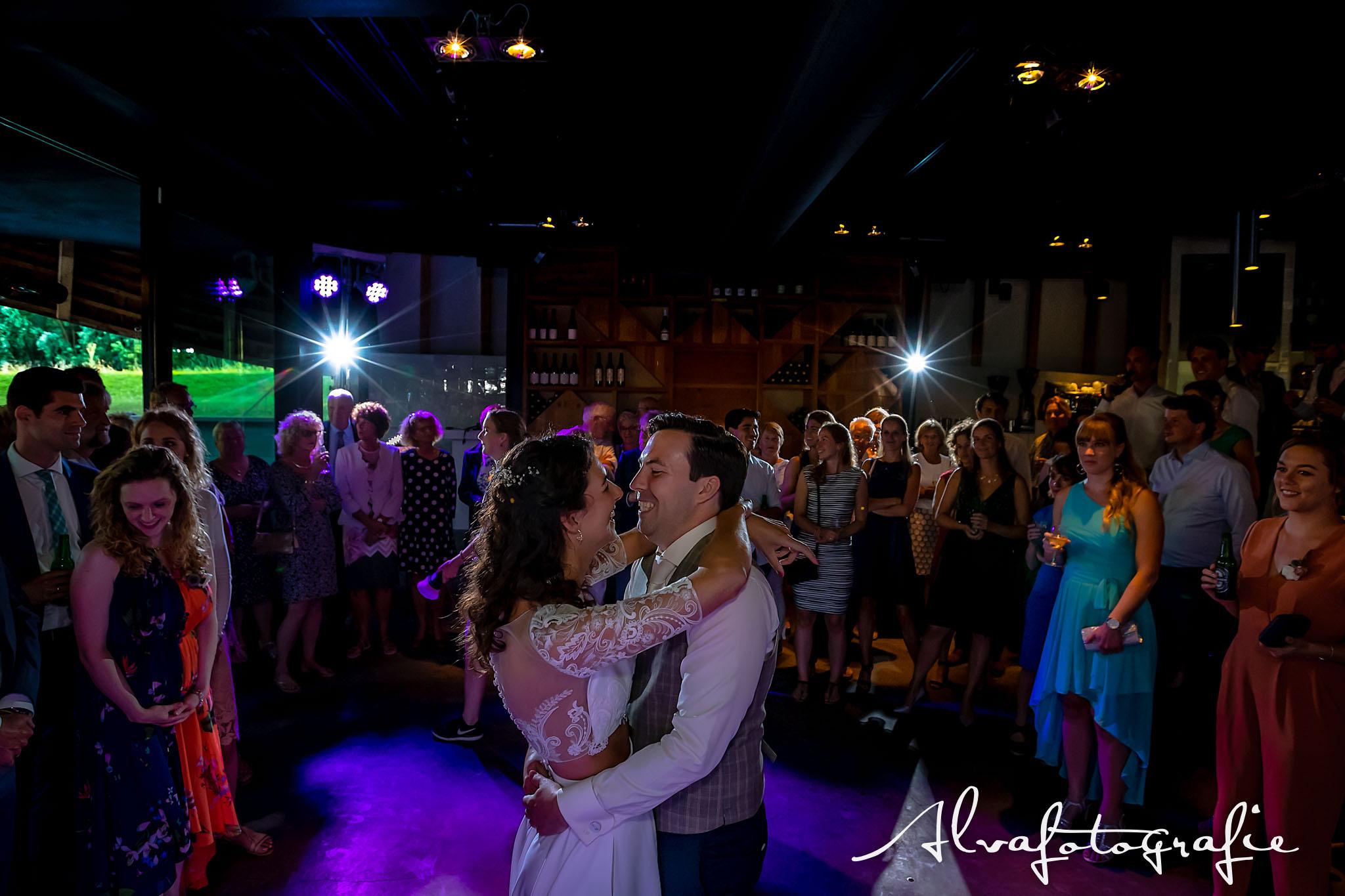 Bruiloft Maren en Tim Alvafotografie dansvloer