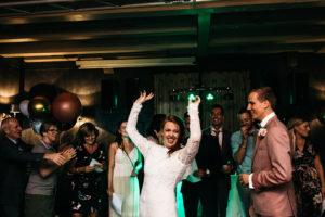 Bruid danst Foto: Wianda Bongen Photography