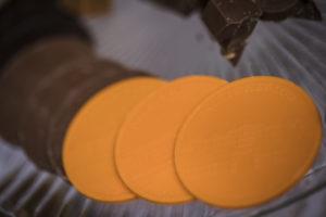 Oranje chocolaatjes van Paleis het Loo Foto: Karin Keesmaat van Kijk-Kunst Fotografie