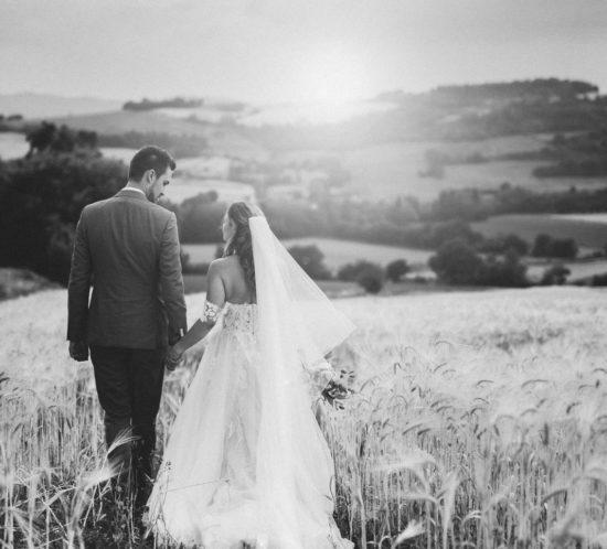 Bruidspaar in Italië Umbrië Fotograaf Jessica van Duren