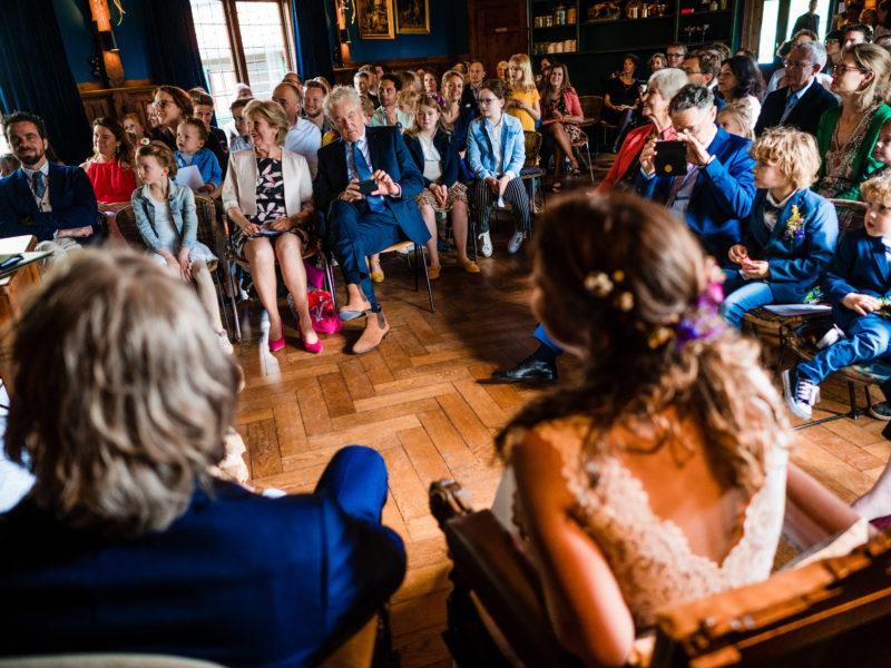 Ceremonie bij Stayokay Gorssel Foto Eline Bon Fotografie