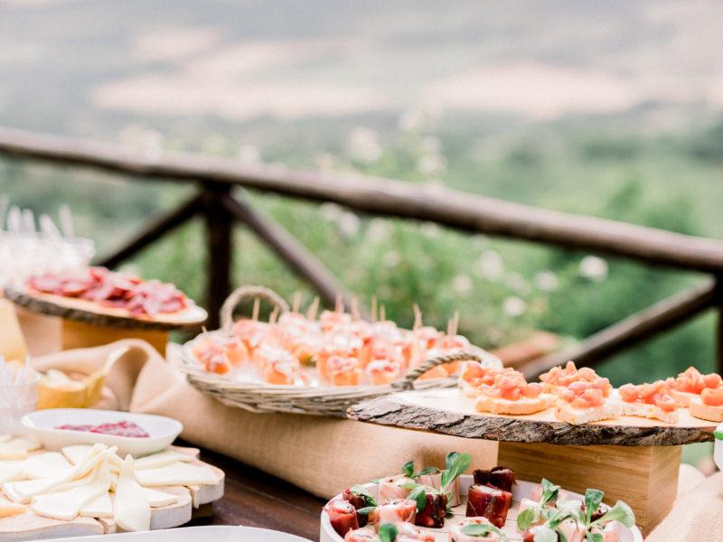 Buffet met eten. Foto: Jessica Photography