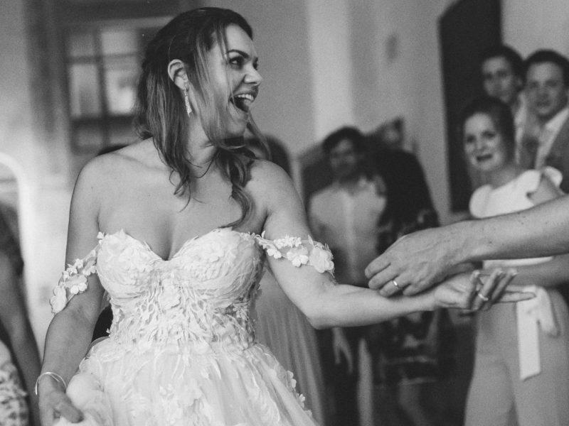 Bruid danst Foto: Jessica Photography