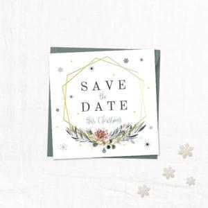 save-the-date-kerstkaarten Stijlvolle Trouwkaarten