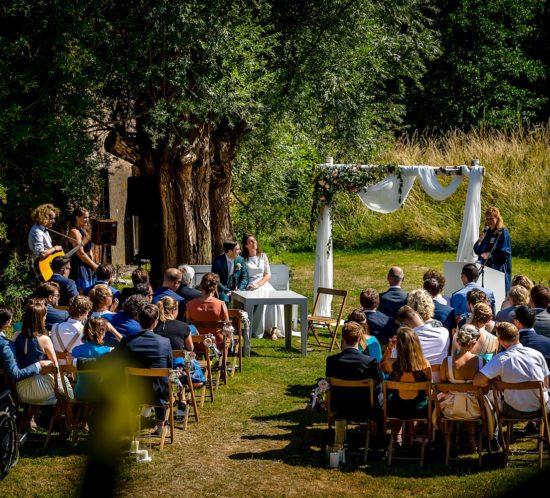 Ceremonie Paviljoen Puur Foto Alvafotografie