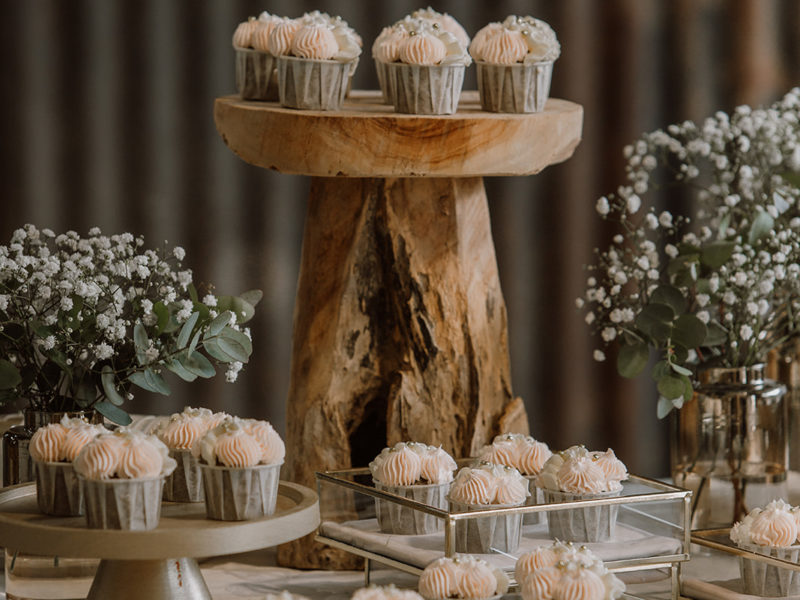 Cupcakes van FLOAK. Bruiloft Christiaan en Lydia, foto d-eYe photography