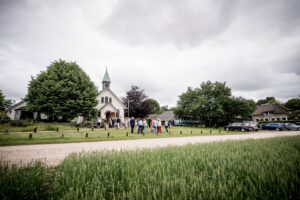 Kerk Hoog Soeren bruiloft Foto: EMFoto